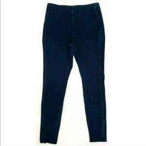 Lysse Women Medium Noho Denim Zip Leggings Stretch